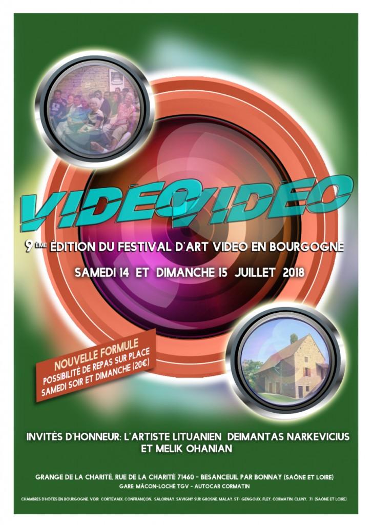Festival Vidéovidéo 2018